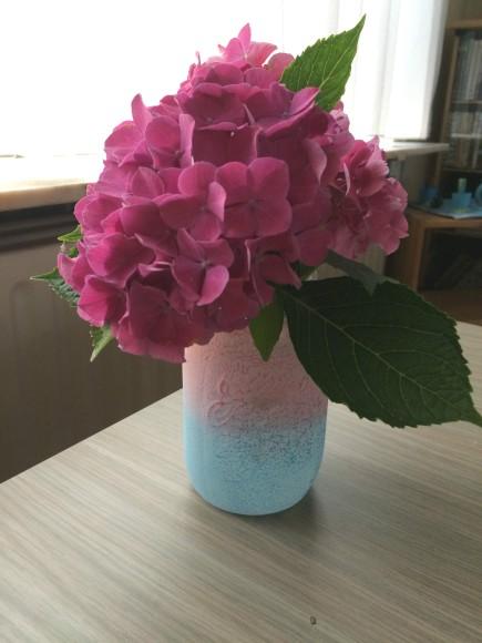 Bloemen in maison jar beauty bandits