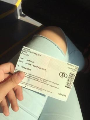 trein ticket