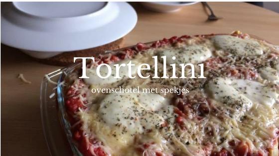 tortellini ovenschotel met spekjes blue sparkles
