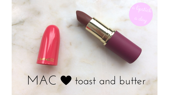 mac toast and butter lipstick