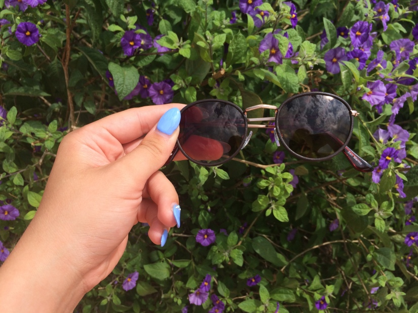 all cheap sunglasses blue sparkles