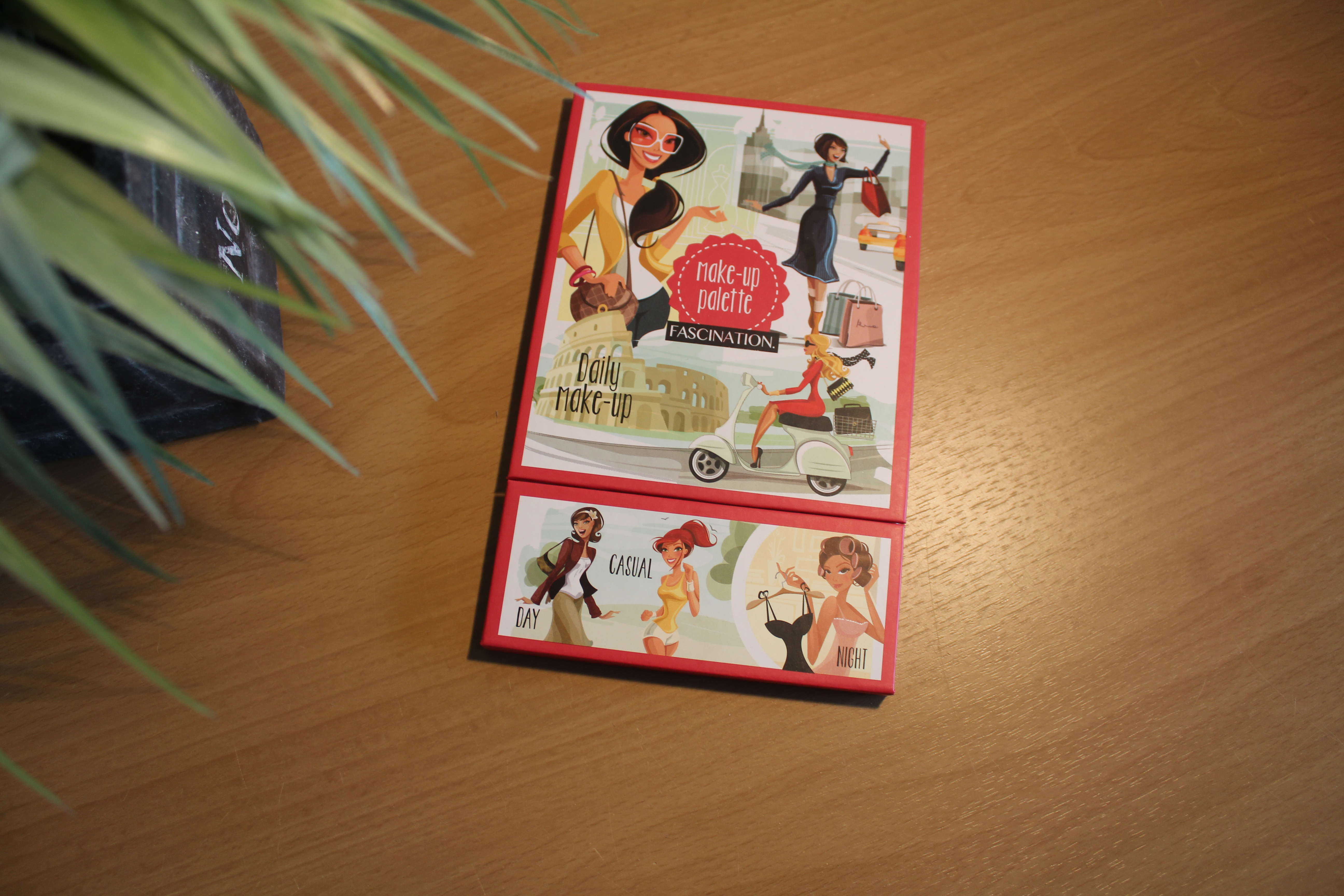 make up palette the balm inspired bij action