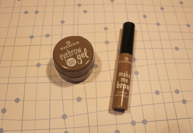 essence eyebrow gel en make me brow